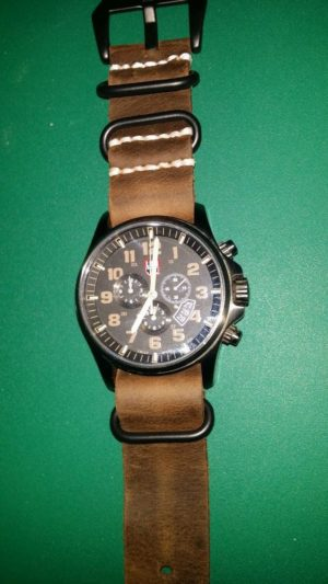 New leather Zulu strap