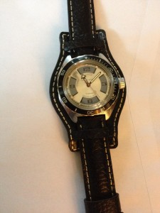 Nice vintage watch Vostok on a nice Military Aviator Leather Watch Strap! Thanks