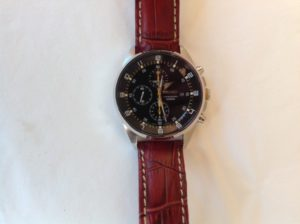 Seiko with a great strap