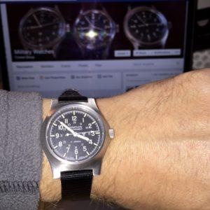 The Marathon GPM watch.
