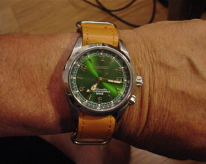 SEIKO ALPINIST ON A STRAPSCO ZULU