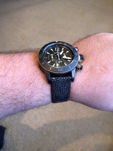 Jaeger-LeCoultre Master Compressor Navy Seal Limited Edition of 500 on DASSARI Offshore Stingray Strap