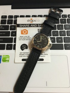 My new watch strap , nice and comfort.