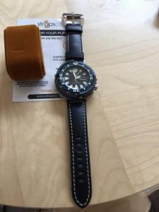 New strap for Seiko Baby Tuna