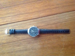 Mini Cooper watch with Rally Band