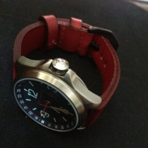 My recent Vostok with it's even more recent leather.