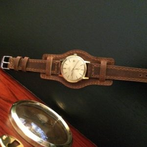 Vintage Omega automatic Genève with DASSARI legend strap