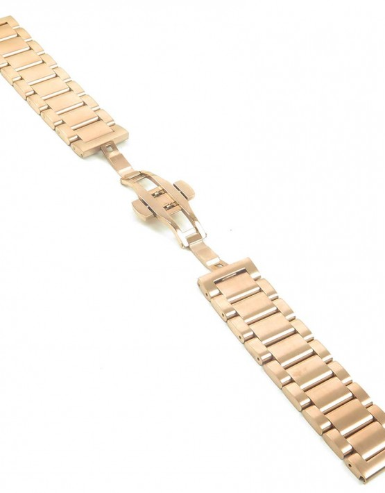 bm2.rg quick realese Rose Gold Watch Strap with Quick Release Pins fits Seiko