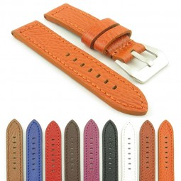 Gallery DASSARI Baron p619 Thick Textured Leather Strap
