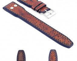 Gallery-DASSARI-Continental-iw5-Vintage-Italian-Leather-Strap-w-Rivets