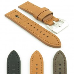 Gallery DASSARI Keyhole p620 Thick Italian Leather Strap