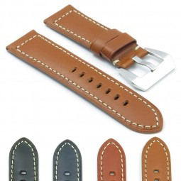 Gallery DASSARI Monaco p409 Thick Padded Leather Strap