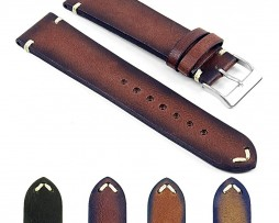 Gallery-DASSARI-Regal-ds7.2-Vintage-Leather-Strap-with-Hand-Sewn-Stitching-in-Brown