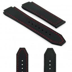 Gallery DASSARI S3 p621 Black with red stitching