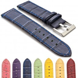 gallery-361-5-crocodile-embossed-flat-leather-watch-strap-in-blue