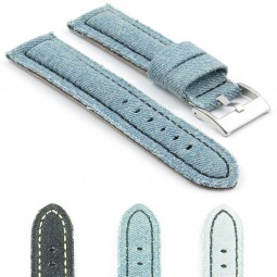 389.16 Denim Watch Strap in Blue