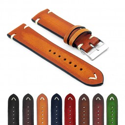 st11 Gallery Faded Vintage Leather Watch Band