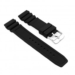 StrapsCo Rubber Watch Band for Luminox Sentry