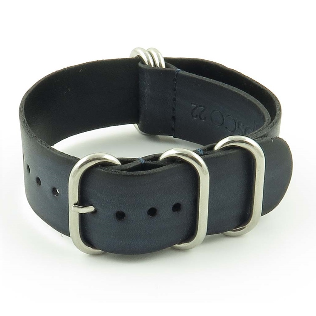 c10a48c3815 Faded Vintage Leather NATO Strap