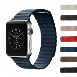 Gallery a.l1 Apple Leather Band