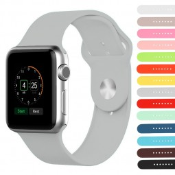 Gallery ar1  Apple Watch Band Rubber Strap