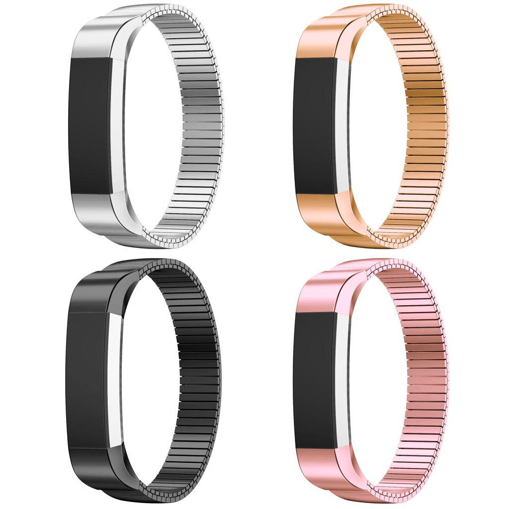 Elastic Stainless Steel Bracelet For Fitbit Alta Hr Smart Watch Strapsco