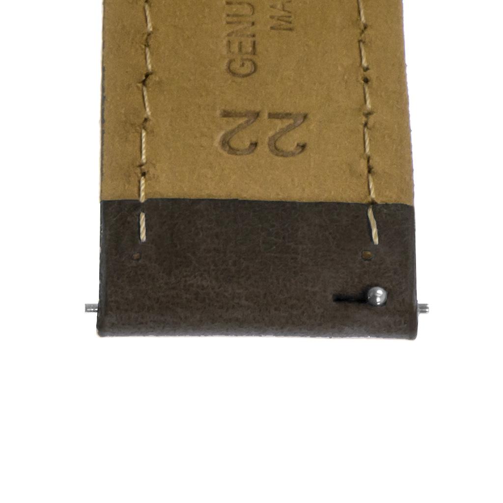 StrapsCo-Quick-Release-Vintage-Top-Grain-Leather-Watch-Band-w-Matte-Black-Buckle thumbnail 12
