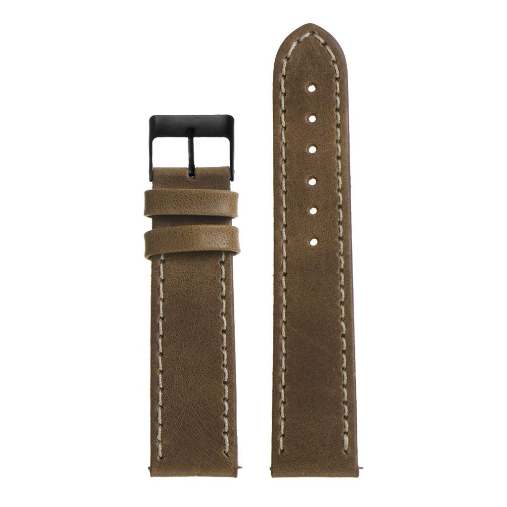 StrapsCo-Quick-Release-Vintage-Top-Grain-Leather-Watch-Band-w-Matte-Black-Buckle thumbnail 30