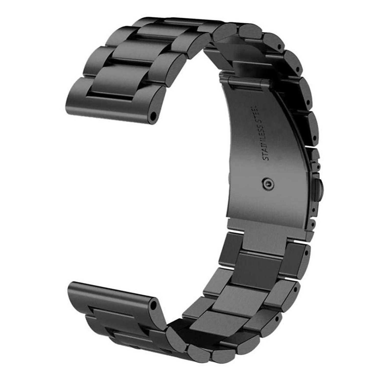 Black Stainless Steel Bracelet For Garmin Fenix 5x Strapsco